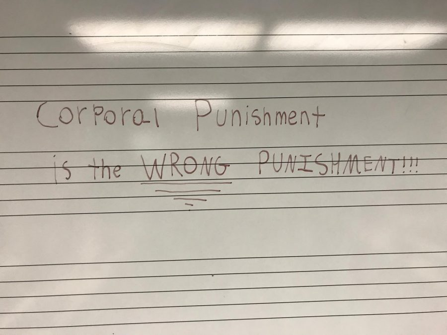 Is Corporal Punishment the right punishment?
