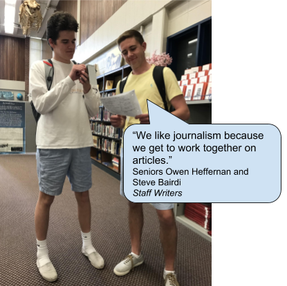 Journalists At Work