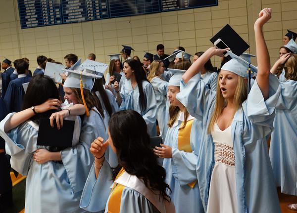 Graduation Ceremony At Triton