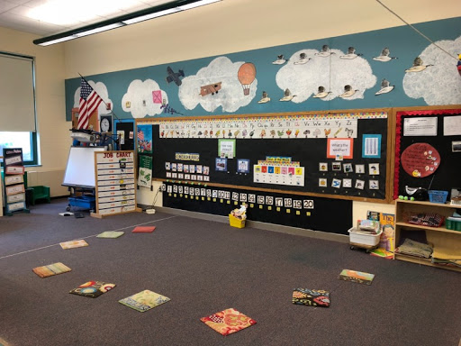 Ms. Lagana and Mrs. Sullivan's Preschool classroom