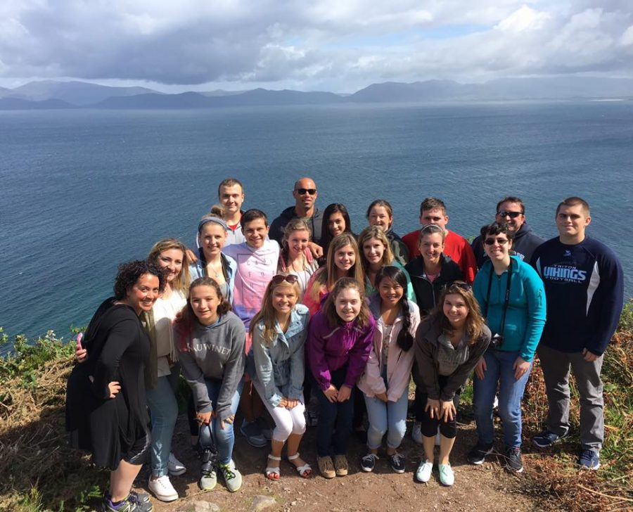 In the summer of 2016, the Triton Travel Club went to Ireland, Wales, and England.