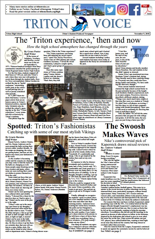 Triton Voice for 11/9/18
