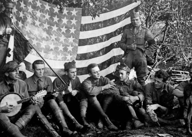 American+Soldiers+during+WW1.