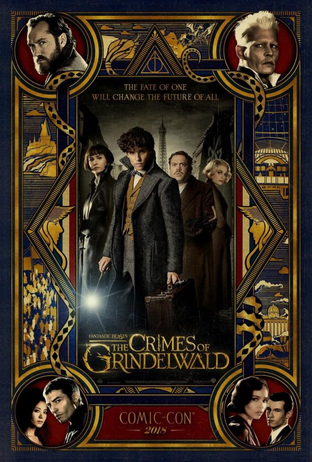 The+Most+Recent+%22Crimes+of+Grindewald%22+movie+poster