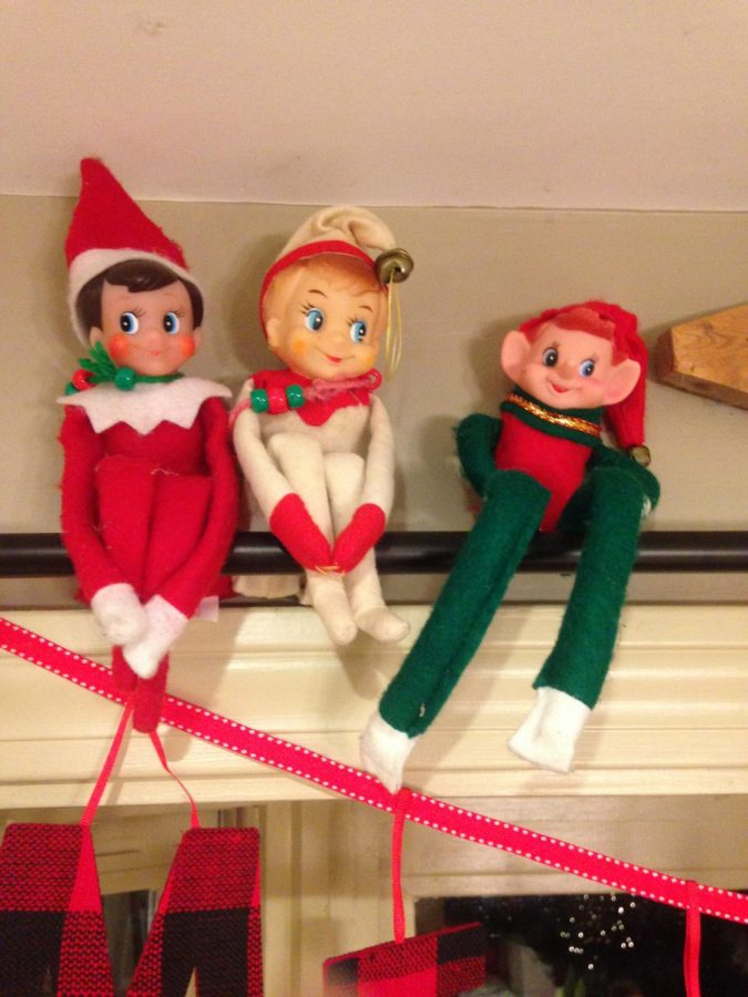 The Elf on the Shelf is a time-honored but strange tradition