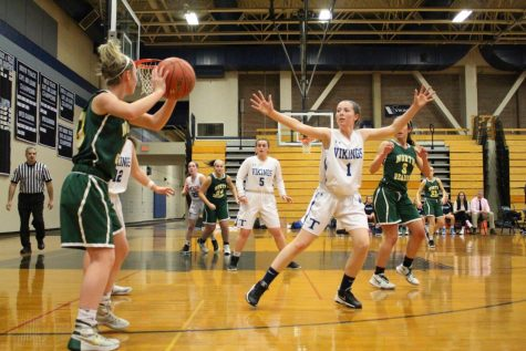 Triton Girls Basketball Team vs. North Reading