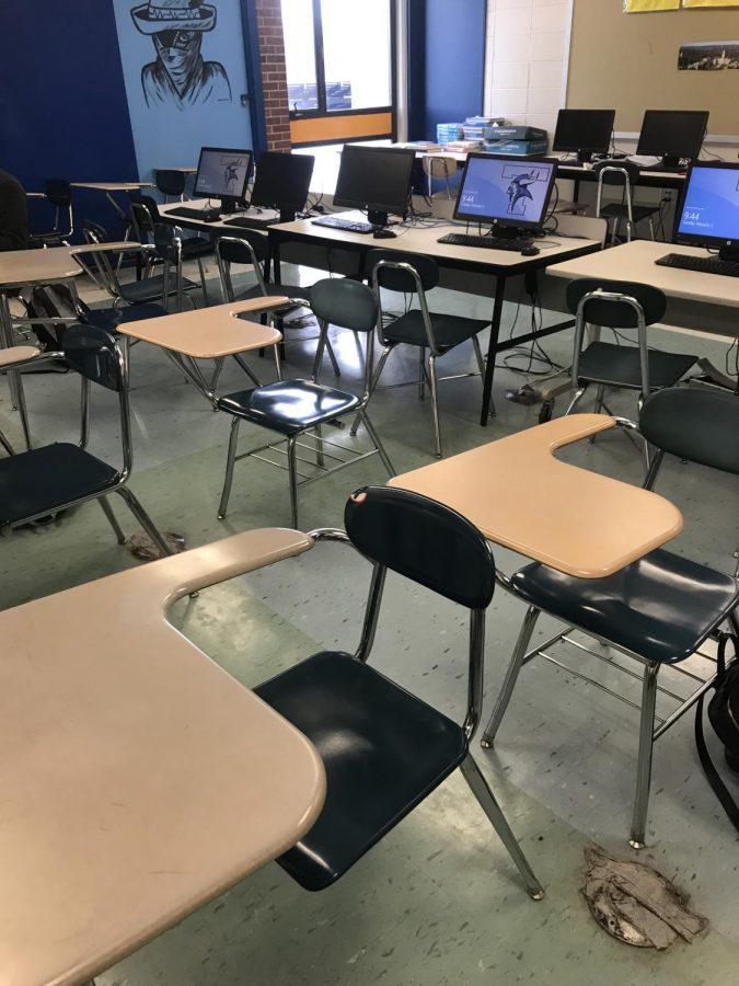Empty+Desks+as+Students+Attend+Pats+Parade
