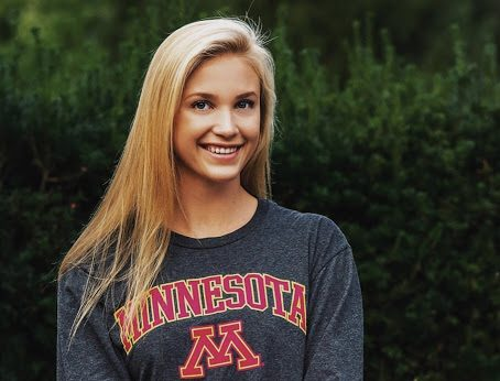Senior Maggie Summit has decided to further her swimming career at the University of Minnesota which is a Division I Big 10 school.