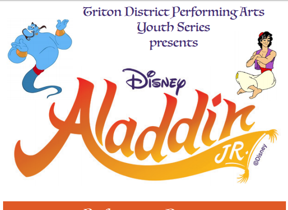 Aladdin Jr. takes the stage this weekend with many surprises in store