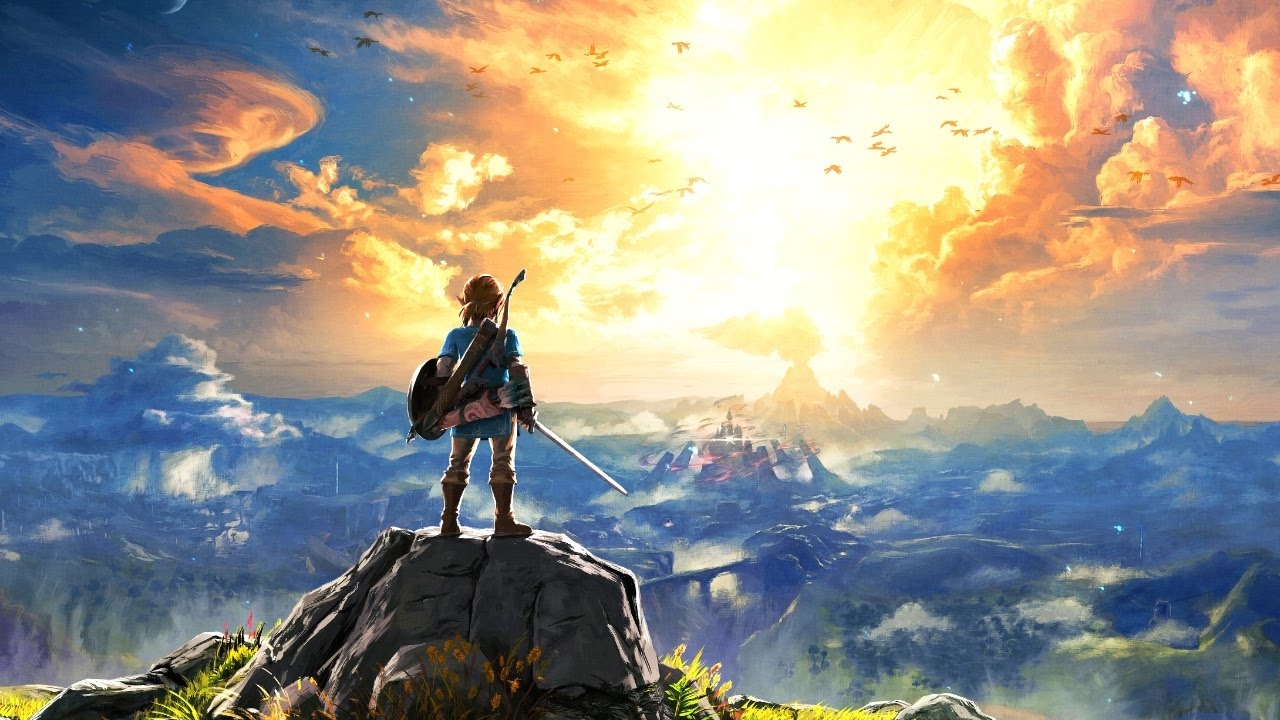 Legend of Zelda Breath of The Wild cover art.