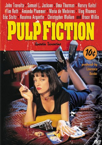 The classic Pulp Fiction Poster