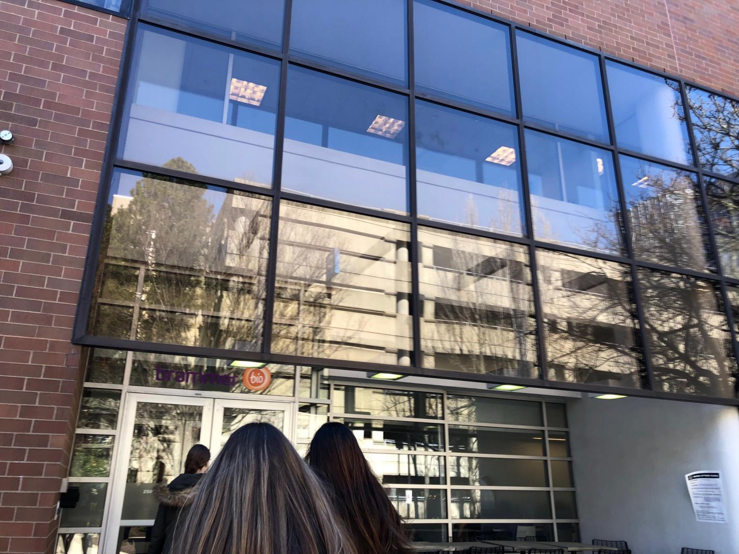 Tritons Biotech class went on a field trip to Brammer Biology in Boston to see what the field of bio technology as to offer