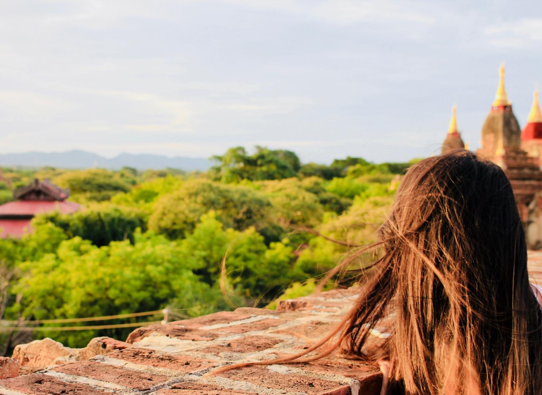 Elizabeth Eliot on Vacation in Myanmar