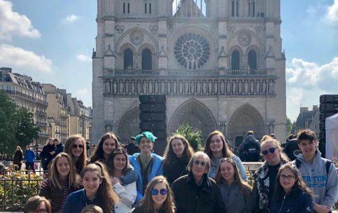 Triton Students Remember Notre Dame
