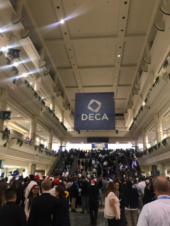Triton Junior Competes on DECA World Stage