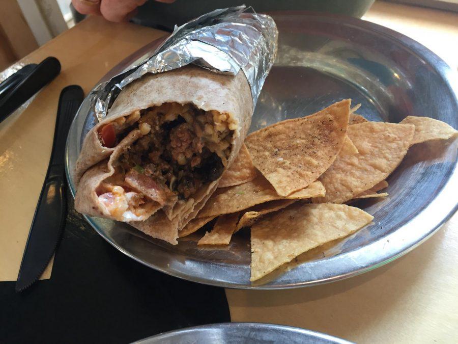 A+beef+burrito+from+Dos+Amigos