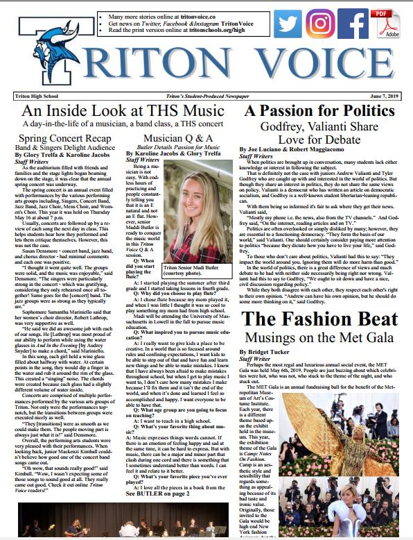 Triton Voice for 6/6/2019