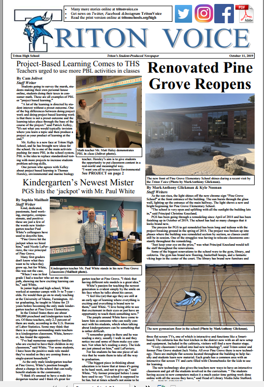 Triton Voice for October 15, 2019