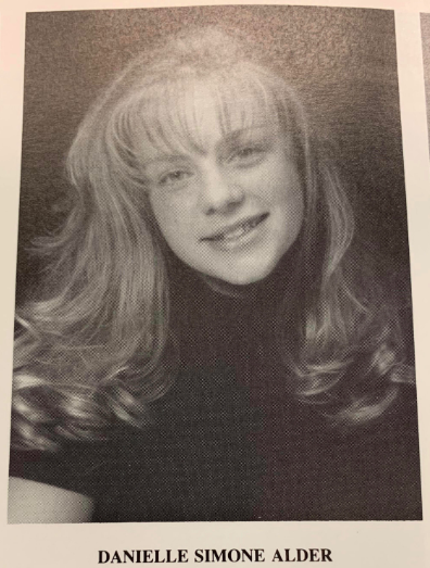 Danielle Warrens Triton high school senior picture  taken 1998, picture taken from yearbook (2019) Derek Cotter