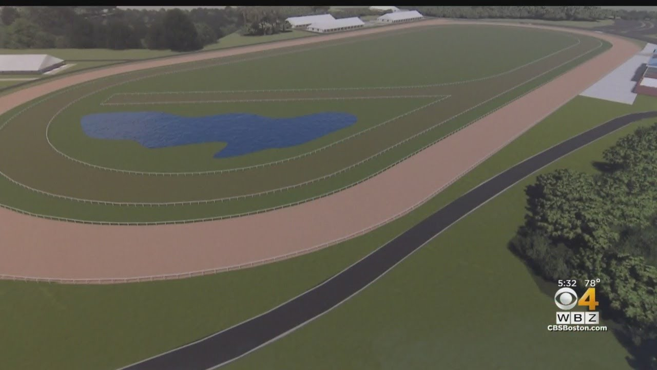 An artist's rendering of a potential race track in Rowley.