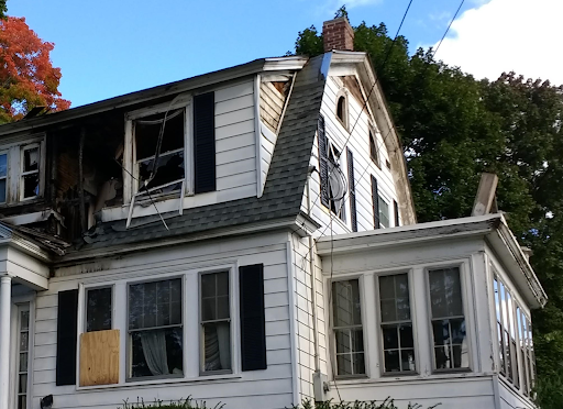 Gas Explosion Damage to Home in North Andover (EEng, Creative Commons)
