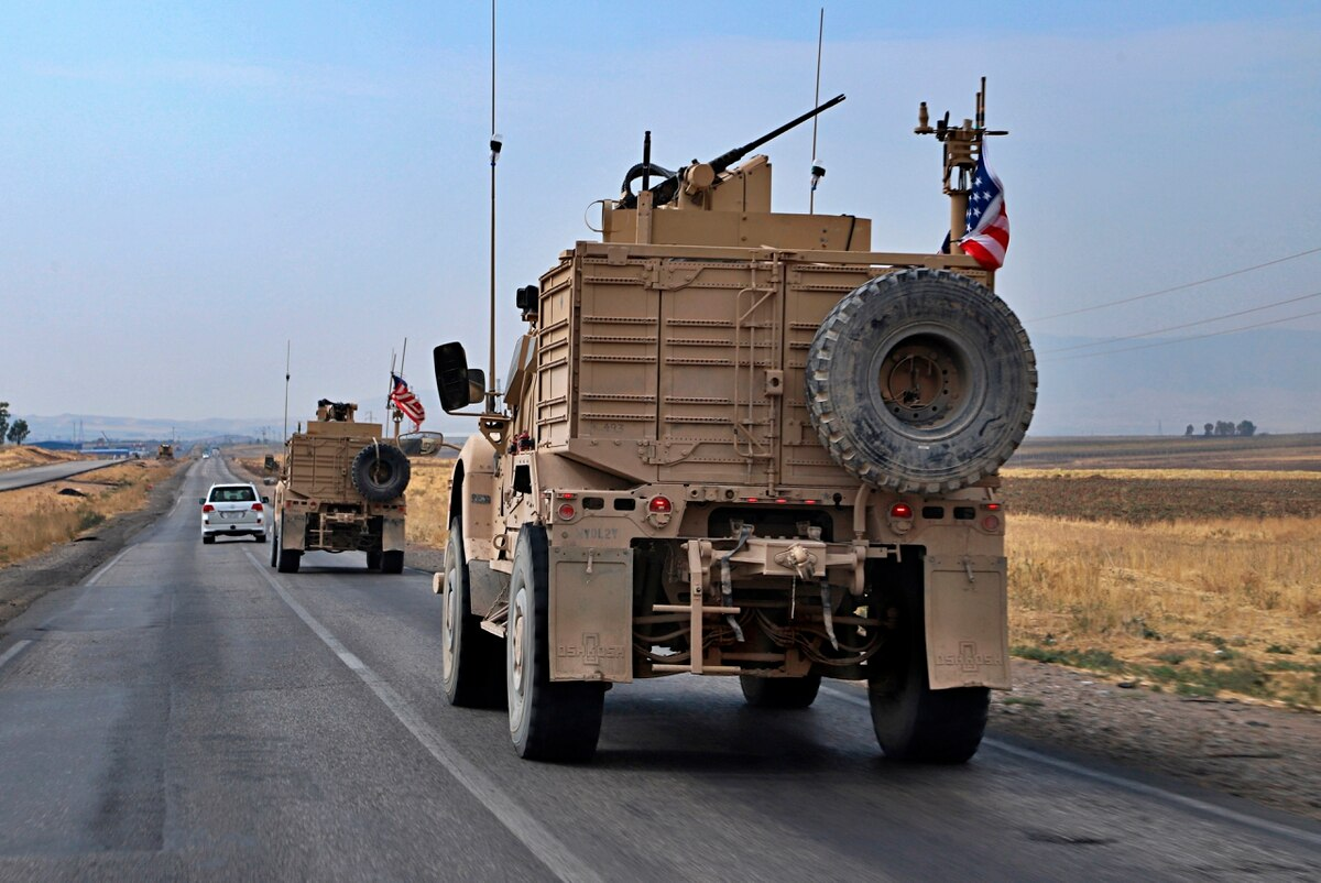 US troops leaving Syria. Courtesy of the Military Times