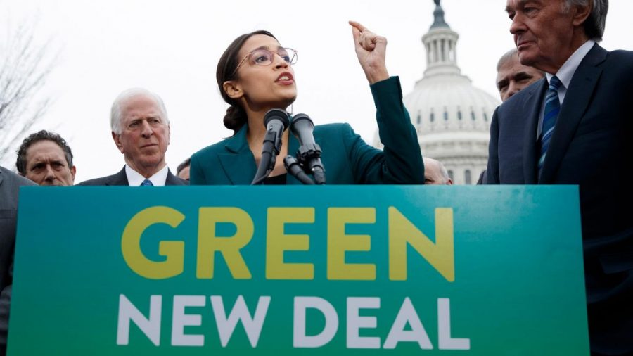 Alexandria+Ocasio-Cortez%2C+D-New+York%2C+fighting+for+the+green+new+deal.