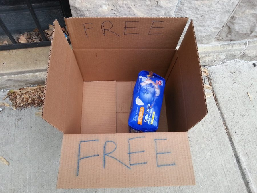 Free Feminine Hygiene products would enable women from embarrassing situations and more.