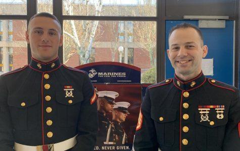 The Marines visit Triton