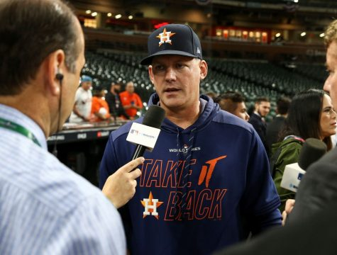 From Washingtonpost.com Astros coach A.J Hinch during an interview
