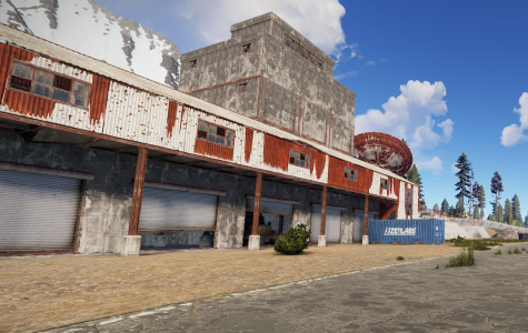 In-game screenshot of an abandoned building.