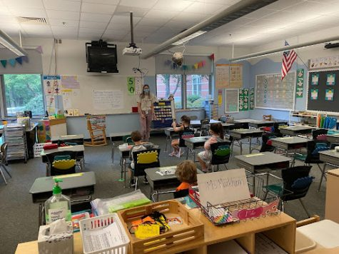 Ms.Markhams early morning classroom routine with the kids